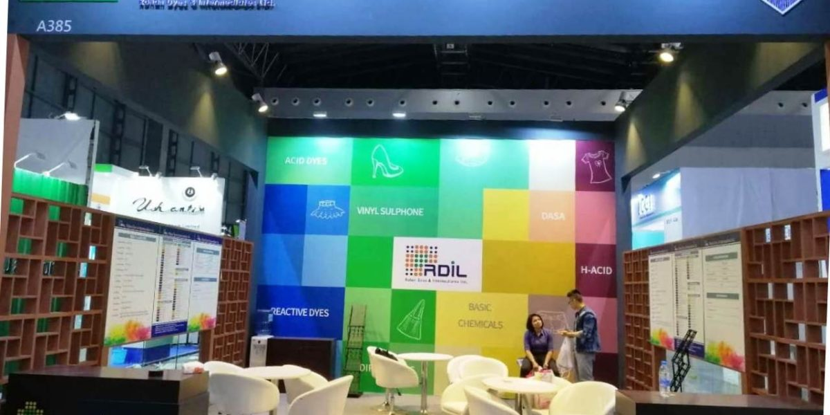 Event China Interdye exhibition